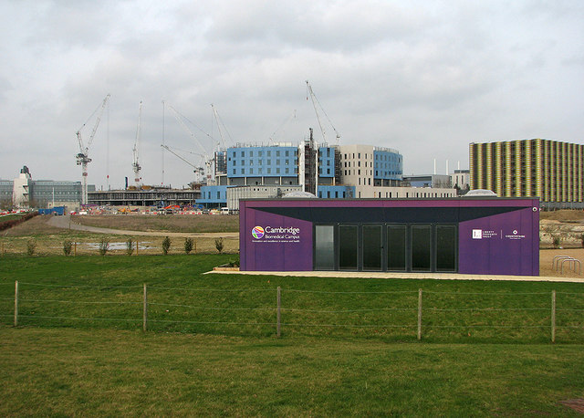 The changing face of the Cambridge Biomedical Campus