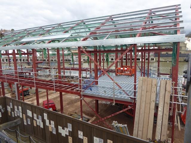 Brunel Museum under construction