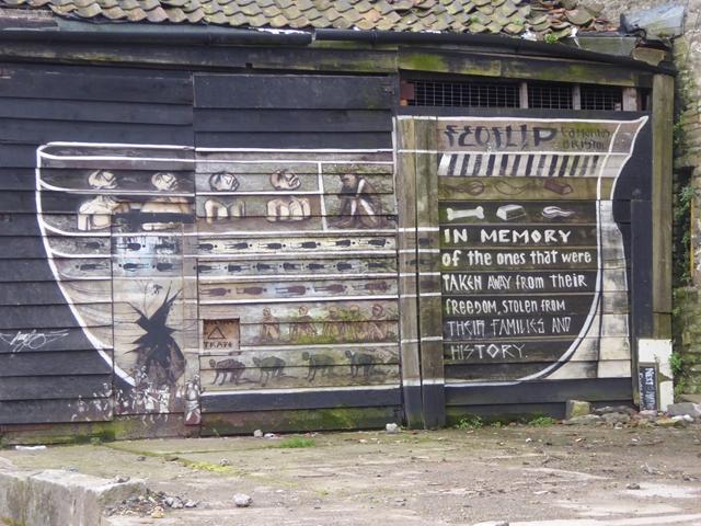 Street art near Redliffe Caves