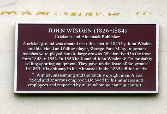 John Wisden (1826-1884)