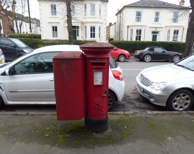 EIIR postbox (CV31 1D)