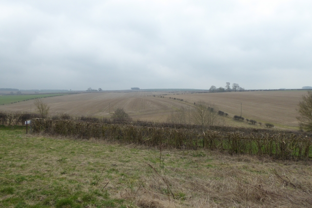 Fields near Mowthorpe