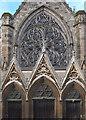 SP3265 : Rose window, Church of All Saints, Leamington Spa by Julian Osley
