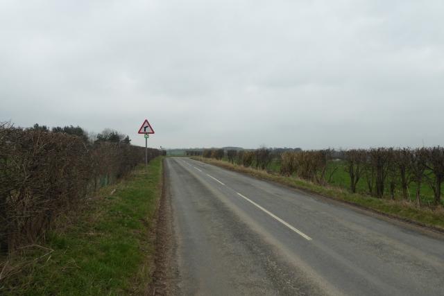 Approaching Malton Lane