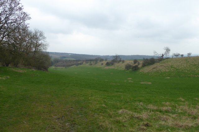 Farmland from the Settrington road