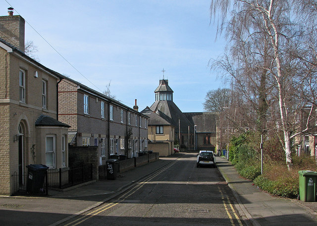 Geldart Street and St Matthew's Church
