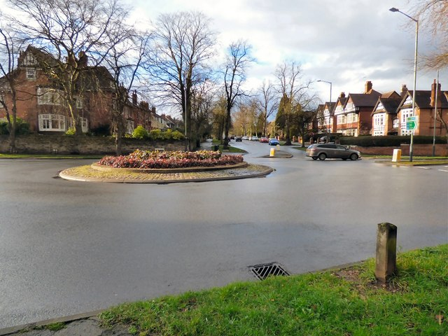Northumberland Road roundabout