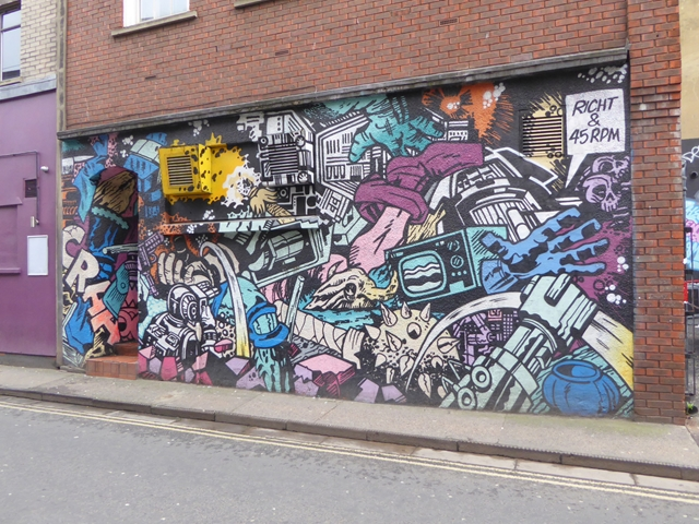 Street art on Frogmore Street
