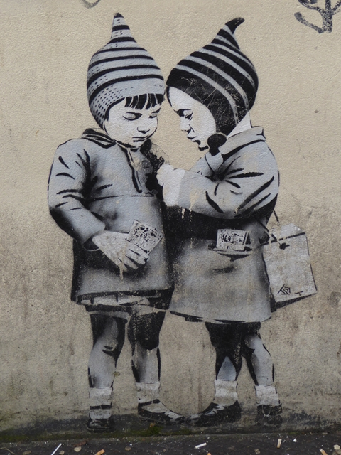 Street art in  Frogmore Street