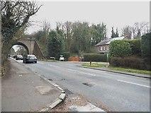 TL1215 : Luton Road, Harpenden by David Howard