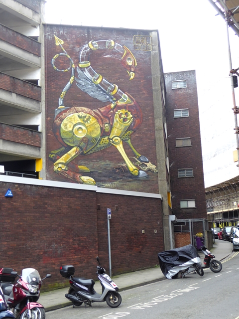 Street art on All Saints Street