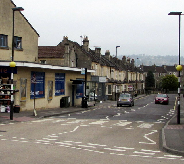 Zebra Crossing On An Oldfield Park C Jaggery Geograph Britain And Ire