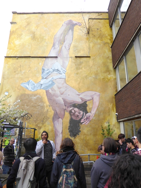 A break dancing Jesus