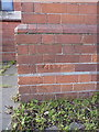 SP0490 : OS benchmark - Handsworth, hall on Somerset Road by Richard Law