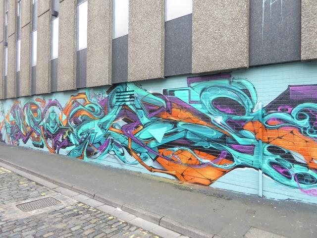 Street art on Wilder Street