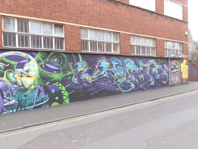 Street art on Wilder Street