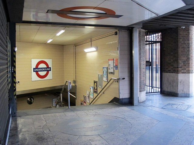 Pimlico tube station - Rampayne Street entrance