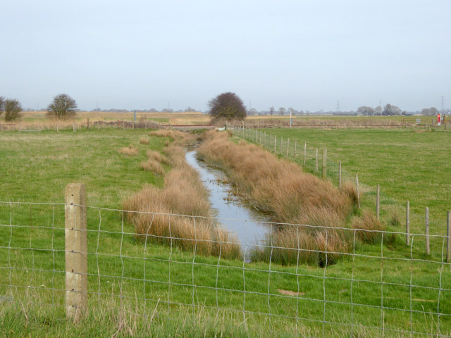 Ditch east of Midley Wall