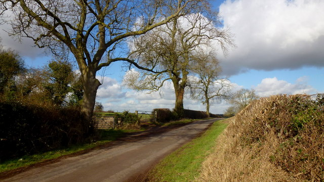 Lane to Whitacre
