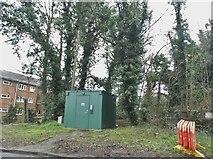 TL1215 : Green hut on Luton Road, Harpenden by David Howard