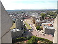 SU9676 : View from the Castle Round Tower looking West (2) by David Hillas