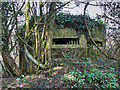 SU4517 : WWII Hampshire - Southampton Airport pillbox no. 1 (5) by Mike Searle