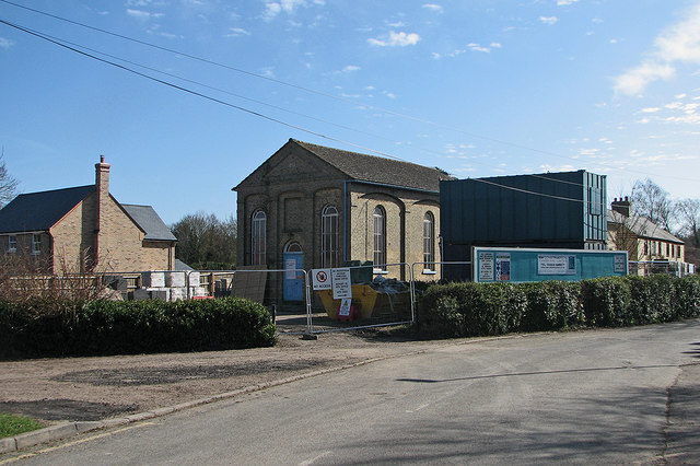 Great Wilbraham: building work at the former Baptist Chapel