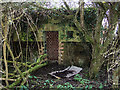 SU4517 : WWII Hampshire - Southampton Airport pillbox no. 1 (6) by Mike Searle