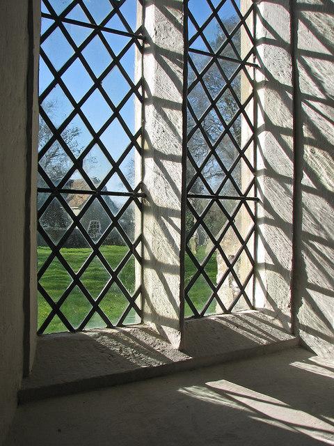 Little Wilbraham: through a chancel window