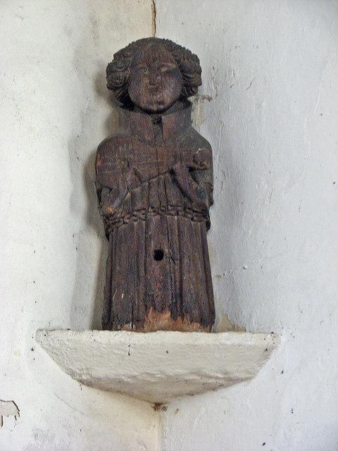 Little Wilbraham: St John - carved musician