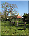 TL5458 : Early spring in Little Wilbraham churchyard by John Sutton