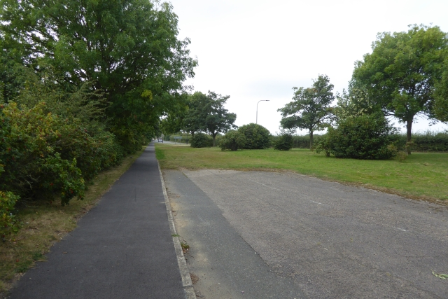 Footpath to Place Road