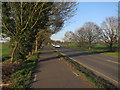 TL4149 : Cycle path by A10 by Hugh Venables