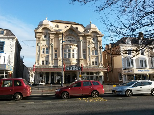 Llandudno: the Palladium
