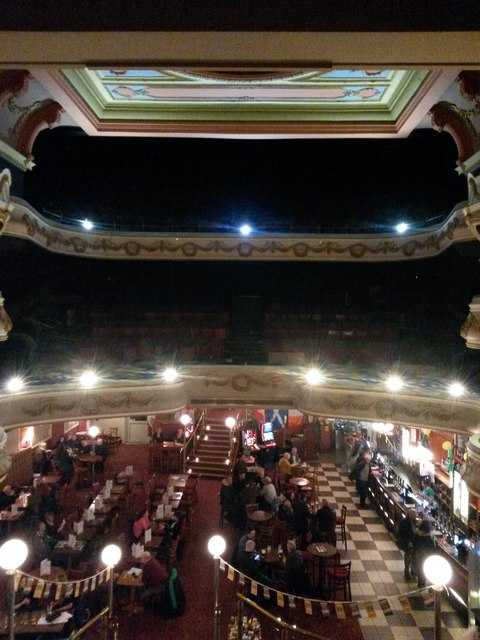 Llandudno: inside the Palladium