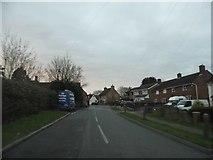 TL0045 : Church Road, Wootton by David Howard