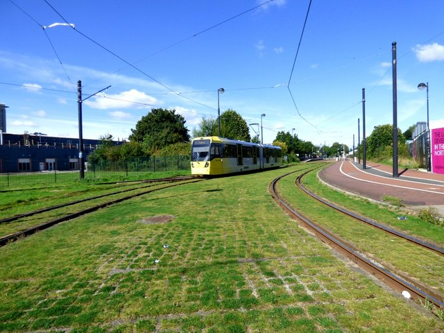 Tram to Eccles