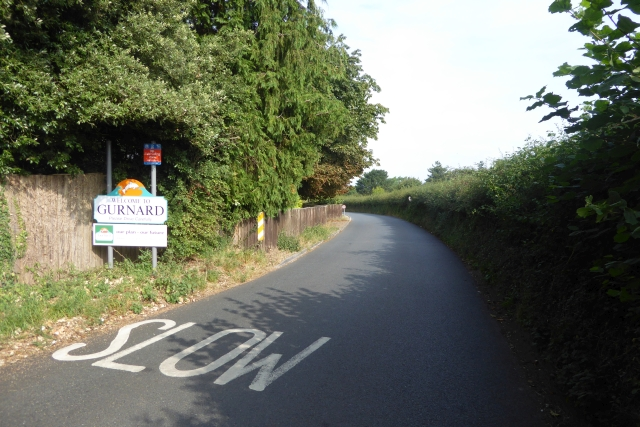Sign for Gurnard