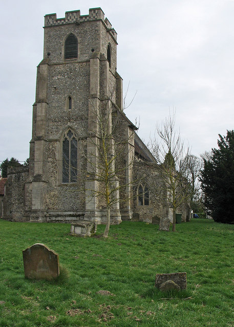 Wickhambrook: All Saints