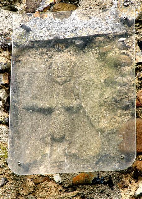 Wickhambrook: All Saints - Saxon carving