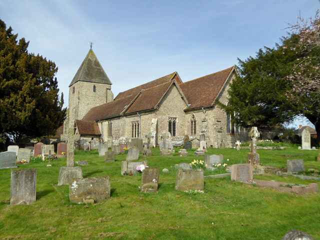 Mersham church