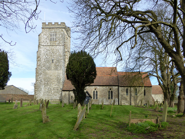 Aldington church