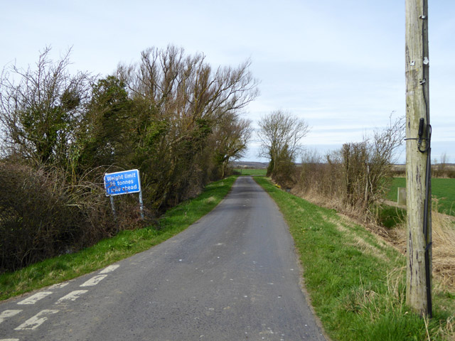 Lane to Bonnington
