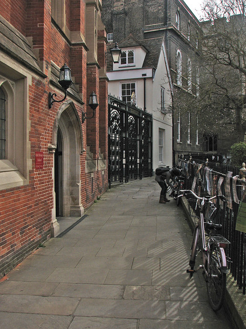 The Old Divinity School and St John's College Quincentennial Gate