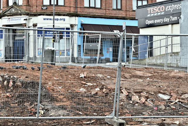 Former Stormont Inn site, Belfast - March 2017(1)