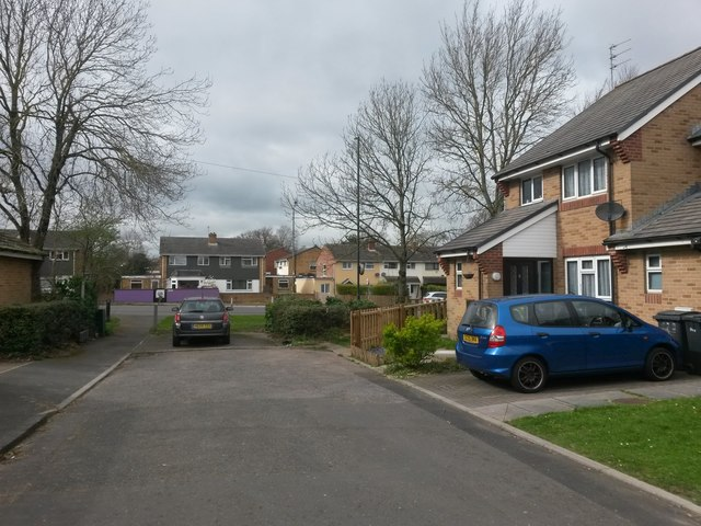 Bear Cross: the dead end of Anchor Close