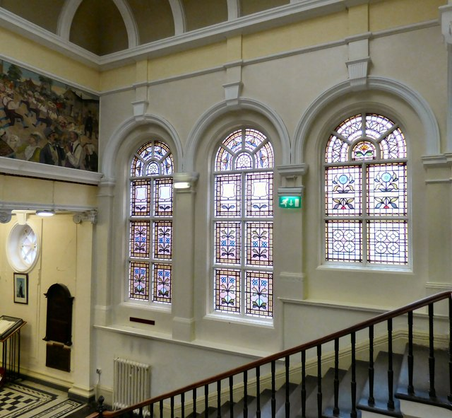 Inside Hyde Town Hall