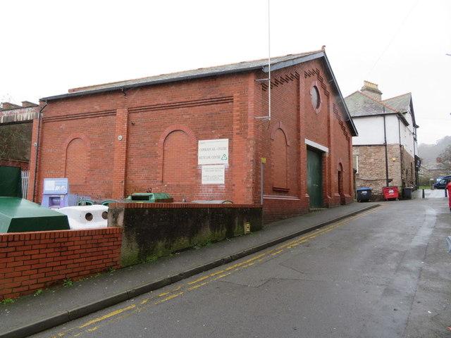 Electricity sub-station, Ivy Street, Colwyn bay