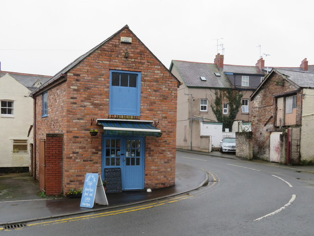 The 'forget-me-not' cafe, 1 Ivy Street, Colwyn Bay