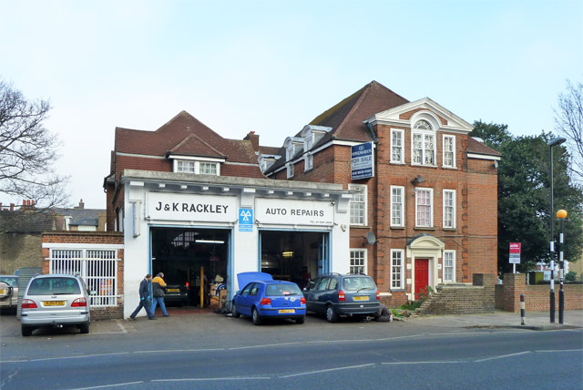 Former fire station, Charlton